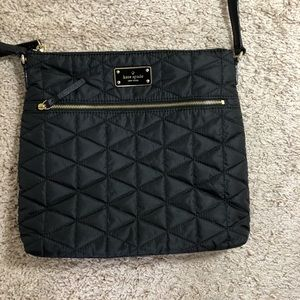Kate Spade Quilted Crossbody Black Bag